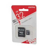 Карта памяти SmartBuy MicroSDHC 32Gb