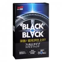 Защитное покрытие-полироль для автомобильных шин Soft99 Black Hard Coat for Tire 02082, 110 мл купить
