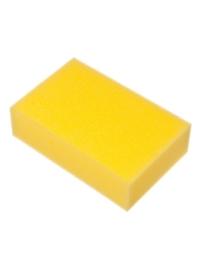 Губка для мытья автомобиля, цвет желтый