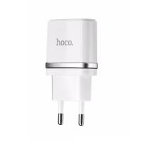 Зарядное устройство адаптер USB White 1.0a