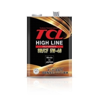 Моторное масло TCL High Line 5w40 SN/CF, 4 литра