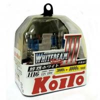 Галогенные лампы Koito Whitebeam III H16 P0749W 4000K 12V 19W - 2 шт. купить цена