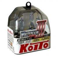 Галогенные лампы Koito Whitebeam HB3 4200K 12V 65W - 2 шт.