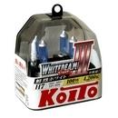 Галогенные лампы Koito Whitebeam H7 4200K 12V 55W (100W) - 2 шт.