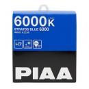Галогенные автолампы PIAA H7 Stratos Blue 6000K 12V 55W (100W) - 2 шт.