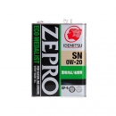 Моторное масло Idemitsu Zepro EcoMedalist 0W20 SN/GF-5, 4 литра