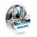 Галогенные лампы Philips X-treme Vision H4 3350K 12V 55W - 2шт.