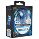Галогенные лампы Philips Color Vision Blue H4 3350K 12V 55W - 2шт.
