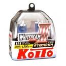 Галогенные лампы Koito Whitebeam H4 4500K 12V 60/55W (135/125W) - 2 шт.