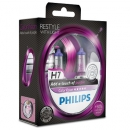 Галогенные лампы Philips Color Vision Purple H7 3350K 12V 55W - 2шт.
