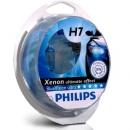 Галогенные лампы Philips Blue Vision H7 4000K 12V 55W - 2шт.