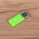 Адаптер для карт MicroSD (USB 2.0) Green