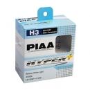 Галогенные лампы Piaa Hyper Plus H3 4000K 12V 55W (100W) - 2 шт.