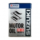 Моторное масло Suzuki Motor Oil 0W20, 4 литра
