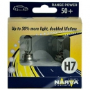 Галогенные автолампы Narva H7 Range Power 3500K (+50% света) 48339 12V 55W