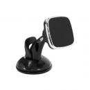 Магнитный держатель для телефона на присоске Black Chrome