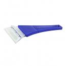 Скребок для уборки снега и льда Clingo SIBO-119, 7х17 см, синий