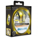 Галогенные лампы Philips Color Vision Yellow H7 3350K 12V 55W - 2шт.