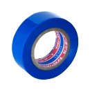 Изоляционная лента Denka VINI-TAPE, цвет - синий, длина - 9 метров