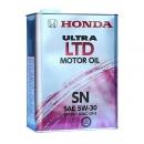 Моторное масло HONDA 5W30 ULTRA LEO SN, 4 литра