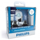 Галогенные лампы Philips Diamond Vision HB4 5000K 12V 55W - 2шт.