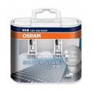 Галогенные автолампы Osram H4 Silverstar 2.0 3300K (+60% света) 64193SV2-HCB 12V 60/55W