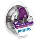 Галогенные лампы Philips VisionPlus H1 3250K 12V 55W - 2шт.
