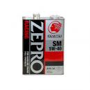 Моторное масло Idemitsu Zepro Racing  5W40 SN, 4 литра