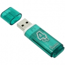 Флеш накопитель Smartbuy USB 2.0 Green, 4 GB