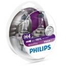 Галогенные лампы Philips VisionPlus H4 3250K 12V 55W - 2шт.