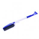 Щетка-скребок для уборки снега и льда Clingo, 76-110 см, c телескопической ручкой