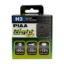 Галогенные лампы Piaa Night Tech H3 3600K 12V 55W (125W) - 2 шт.