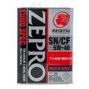 Моторное масло Idemitsu Zepro Euro Spec  5W40 SN/CF, ACEA A3/B4, 4 литра