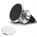 Магнитный держатель для телефона на дефлектор Silver