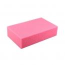 Губка для мытья автомобиля, цвет розовый