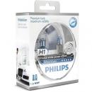 Галогенные лампы Philips White Vision H1 4500K 12V 55W + w5w 12V 5W - 2шт.