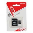 Карта памяти SmartBuy MicroSDHC 8Gb