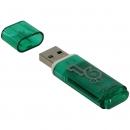 Флеш накопитель Smartbuy USB 2.0 Green, 16 GB