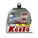 Галогенные лампы Koito Whitebeam III H8 4000K 12V 35W (70W) - 2 шт.