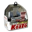 Галогенные лампы Koito Whitebeam III H3c 4000K 12V 55W (100W) - 2 шт.